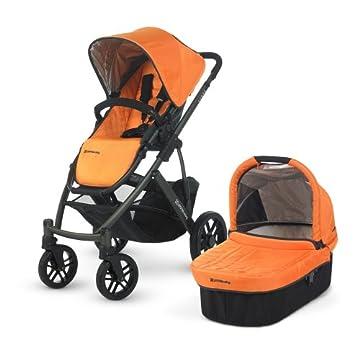 UPPAbaby Vista Stroller (Drew Tangerine)