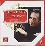 Brahms : Symphonies, ouvertures, concertos pour piano (Coffret 5 CD)