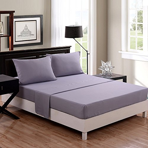 Honeymoon-Solid-3PC-Microfiber-Bed-Sheet-Set-1800T-Bedding-Set