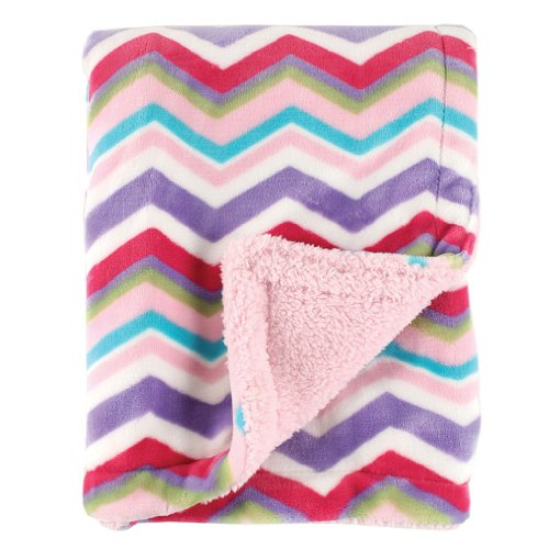 Hudson Baby Double Layer Blanket, Pink,Hudson Baby,50498_Pink