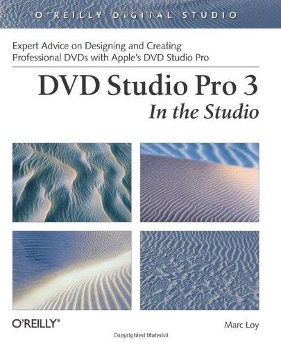 DVD Studio Pro 3: In the Studio