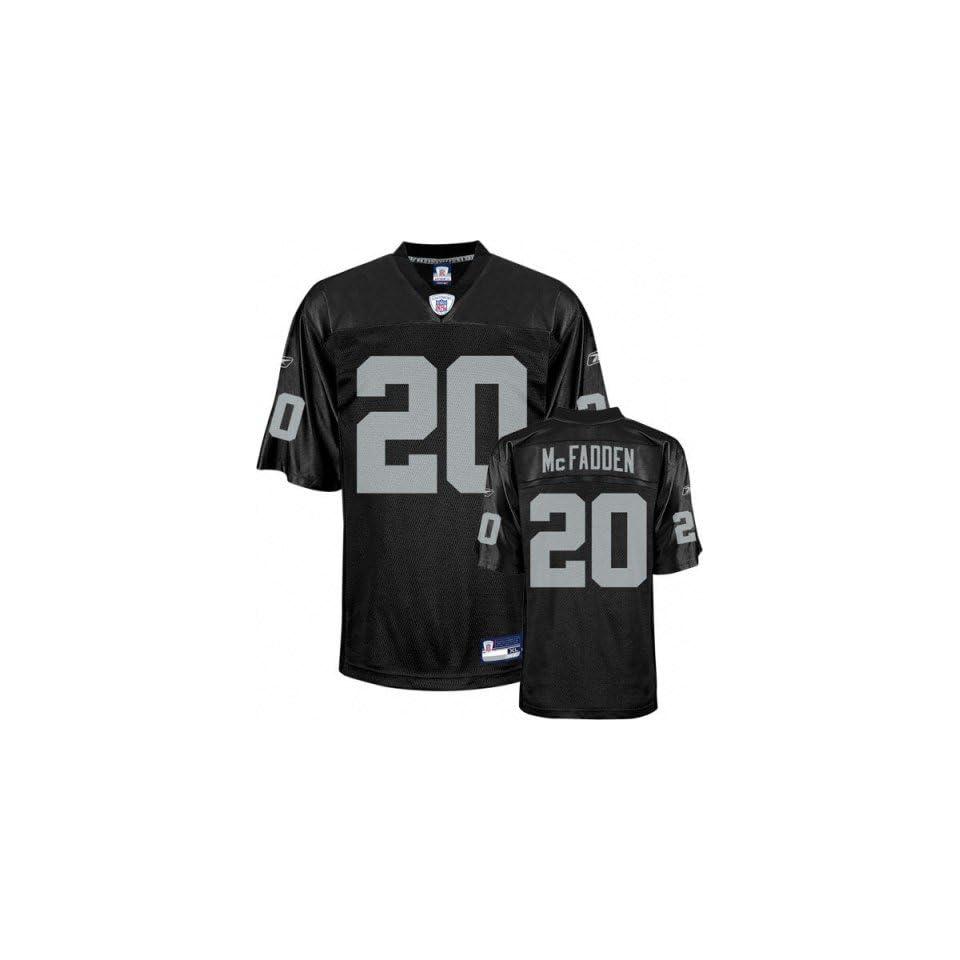 d0846da5fc9 Reebok Oakland Raiders Darren McFadden Boys (4 7) Replica Jersey on ...