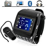 Ninja Q8 Watch Mobile Phone dual sim with camera touchscreen MP3 MP4 with keypad