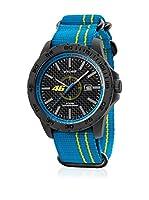 VR46 Valentino Rossi VR1 by TW Steel Reloj con movimiento Miyota Vr11 Azul / Amarillo 40  mm