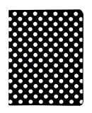 Black and White Polka Dot Pattern PU Leather Case For iPad 2