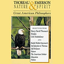 Thoreau and Emerson: Nature and Spirit Audiobook by Henry David Thoreau, Ralph Waldo Emerson Narrated by Russ Barnett
