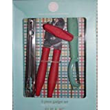 Martha Stewart 3-Piece Gadget Set - Can Opener, Tongs And Peeler