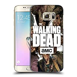 Official AMC The Walking Dead Group Logo Hard Back Case for Samsung Galaxy S7 edge