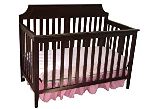 Summer Infant Highlands Convertible 4-in-1 Crib, Mocha