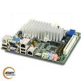 Jetway NF9D-2700 Intel Atom D2700 Dual LAN Mini-ITX Motherboard w/ HDMI, LVDS