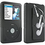 DLO Jam Jacket with Cord Management for the 80/120 GB iPod classic 6G (Black)