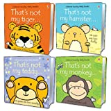 Fiona Watt That's Not My... Pack, 4 books, RRP £19.96 (That's Not My Hamster; That's Not My Monkey; That's Not My Teddy; That's Not My Tiger).