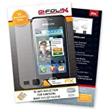 AtFoliX FX-Antireflex screen-protector for Samsung Wave 525 GT-S5250 (3 pack) - Anti-reflective screen protection!