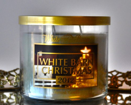 Slatkin & Co. - White Barn Christmas 2012 - Fragrance Candle 14.5 Oz.