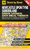 AA Street by Street: Newcastle Upon Tyne, Sunderlan, Durham, Gateshead, South Sh (0749527196) by AA Publishing