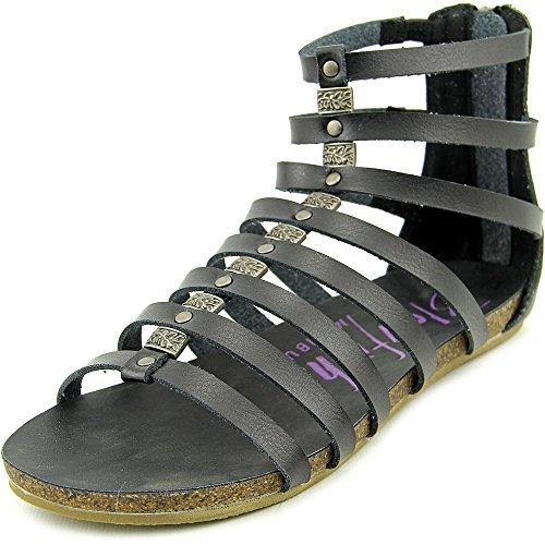 Blowfish Groomie Donna US 7 Nero Sandalo Gladiatore