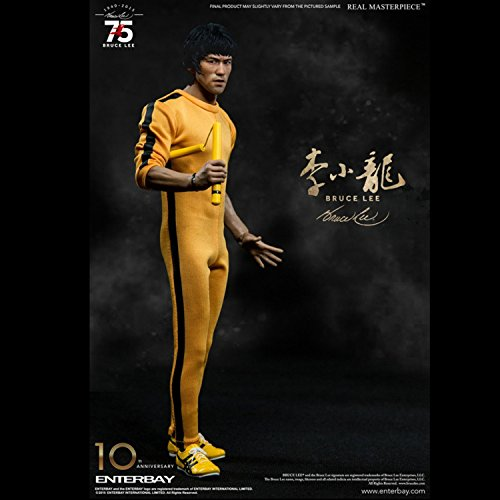 Enterbay Bruce Lee: 75th Anniversary Masterpiece Action Figure (1:6 Scale)
