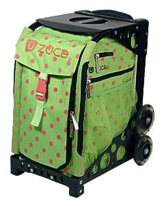 Amazon.com : Zuca Bag Spotz (Black Frame) : Ice Skating Bags : Sports