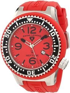 Swiss Legend Men's 21818P-05 Neptune Red Dial Watch