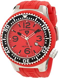 Swiss Legend Men's 21818P-05 Neptune Red Dial Watch