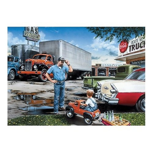Buy Big Rig Dreams Jigsaw Puzzle 1000pc
