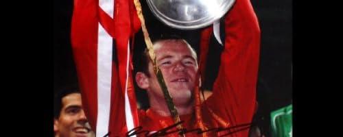 【ウェイン ルーニー】 直筆サインフォト (2008 Champions League Winner) / Wayne Rooney