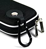 - Black Color High Quality Strong Hard Shell Mini NYLON Carrying Case for Nikon CoolPix S6200 Digital Camera (+ 1pc Name TAG) -- Best Seller on Amazon!
