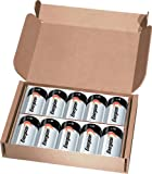 Energizer Max Alkaline D Batteries, 10 Count