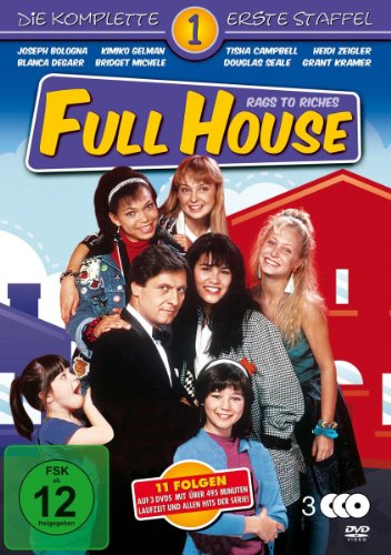 Full House - Rags to Riches, Die komplette 1. Staffel [3 DVDs]
