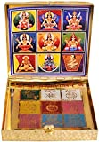 Exotic India Shri Navagraha Yantra - Brass