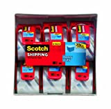 Scotch Packaging Tape, 2 Inches x 800 Inches, 6 Rolls (142-6)