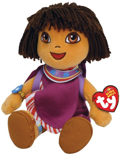 TY Beanie Babies Dora  - Dora World Adventure  Tanzania - 1