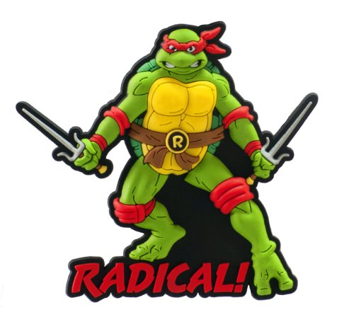 Nickelodeon Raphael Soft Touch PVC Magnet - 1