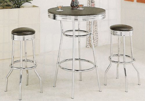 50 styles of chrome stools