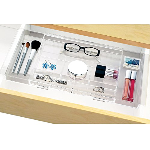 Details Of Expandable Hanging Makeup, Craft & Office Drawer Organizer ...
