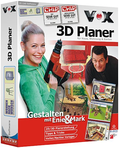 vox 3d planer f r haus wohnung und garten dvd. Black Bedroom Furniture Sets. Home Design Ideas
