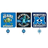 Disney Pixar Monsters University 3-Pack Wall Hooks