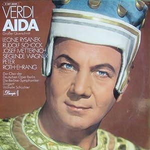 Verdi: AIDA (Grosser Querschnitt in deutscher Sprache) [Vinyl LP] [Schallplatte]