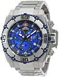 Swiss Precimax Men's SP13174 Tactical Pro Blue Dial Silver Stainless-Steel Band Watch