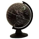 """Escritorio giratorio de la tierra del globo Negro Océano Geografía Globos de vector de la decoración 11.3"""""""