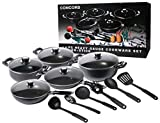BRAND NEW 16 PIECE CONCORD NON-STICK COOKWARE SET PAN KITCHEN whole entire SET
