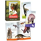 Birdcage Press Wild Cards Dinosaurs Card Game and Book