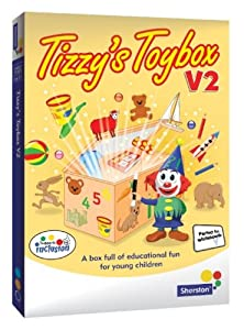 Tizzy's Toybox V2 - early number and language activities for ages 3 to 6 from Sherston (Home User)