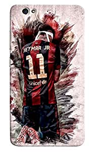 Omnam Neymar Back Pose Printed Desginer Back Cover Case For Gionee S6