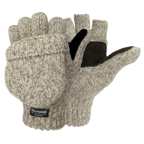 Hot Shot Men's the Sentry Mittens, Oatmeal, One Size (Split Mittens compare prices)