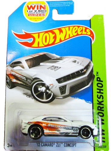 Hot Wheels HW Workshop - 246/250 - '12 Camaro ZL1 Concept - 1