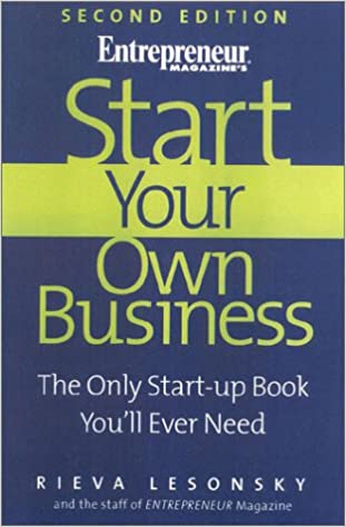 start your own business book review