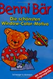 Window-Color-Vorlage: Benni Bär. Window Color Vorlagen