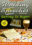 echange, troc Wedding Speeches, Getting It Right [Import anglais]