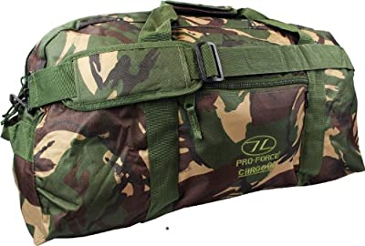 Highlander Cargo 65l Cargo Bag Camping Waterproof Camo from OV